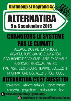 affiche Alternatiba