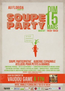 fly soup party